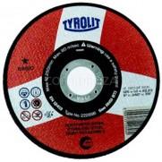 DISCO C INOX EXTRADELG TYROLIT BASIC 125X1 MM