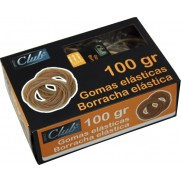 GOMAS ELASTICAS Nº 12 OFFICE CLUB 100 GRS