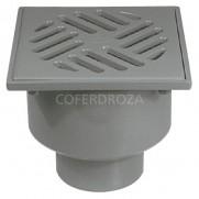 SUMIDERO PVC VERT H 50 S-192 JIMTEN 105X105 MM