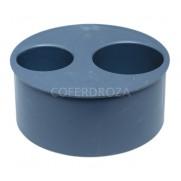 TAPON REDUCIDO CIEGO PVC 50-40 CREARPLAST 110 MM