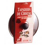 TAPA CRISTAL C/REGULADOR VAPOR TECNHOGAR 28 CM