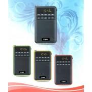 RADIO AM/FM LECTOR TARJETA USB ELCO 102X56XMM