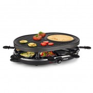 RACLETTE GRILL 8 PERSONAS TRISTAR 43X30CM