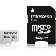TARJETA MICROSD ADAPT UHS-1 U1 TRASCEND 16 GB
