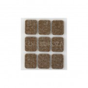 FIELTRO ADHESIVO MARRON INOFIX 29X23X3 MM