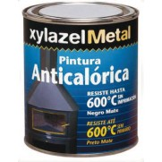 ANTICALORICO 600º NEGRO MATE XYLAZEL 750 ML