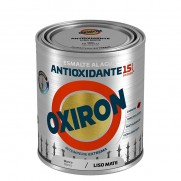 ESMALTE LISO MAT AL AGUA BLANC OXIRON 750 ML