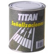 PINTURA SUELOS TRAFICO AMARILL TITAN 750 ML