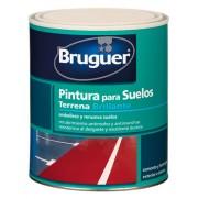 PINTURA SUELOS TERRENA GRIS BRUGUER 4 L